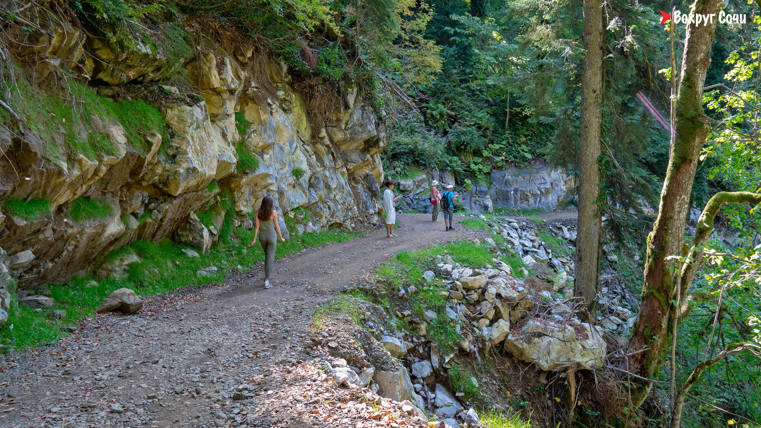 Парк водопадов «Менделиха»