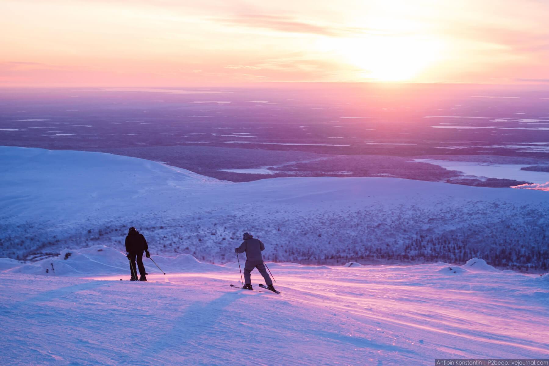 Потрясающие фото с горы Айкуайвенчорр, Хибины