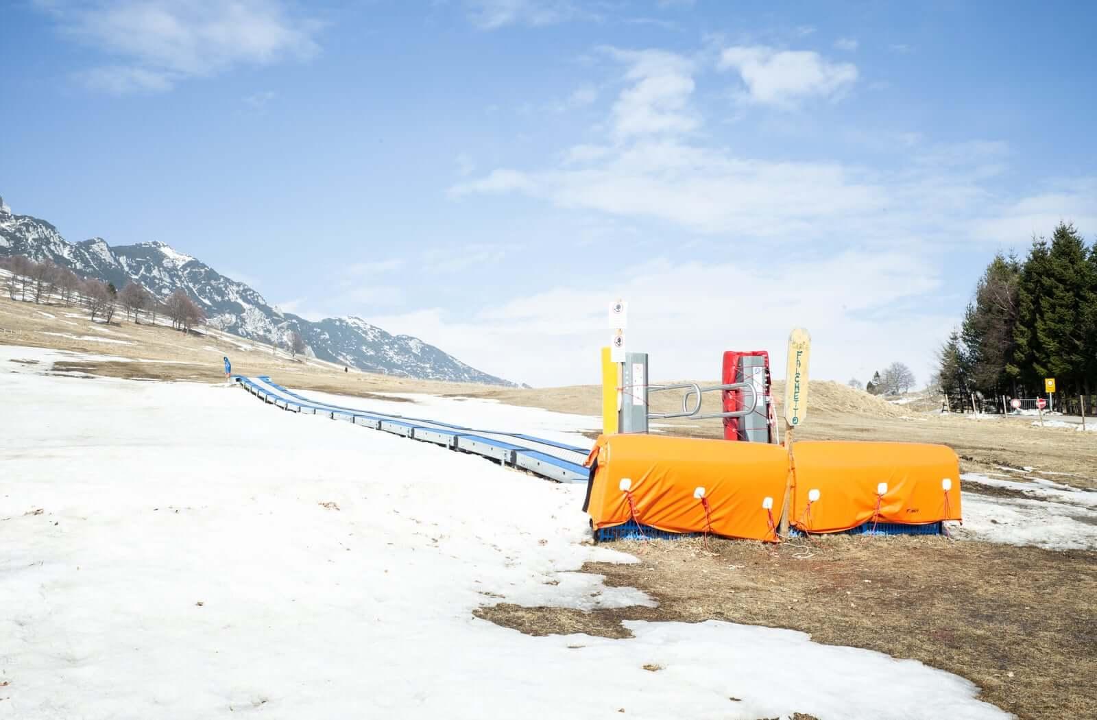 Изменение климата в Альпах опустошает горнолыжные склоны
