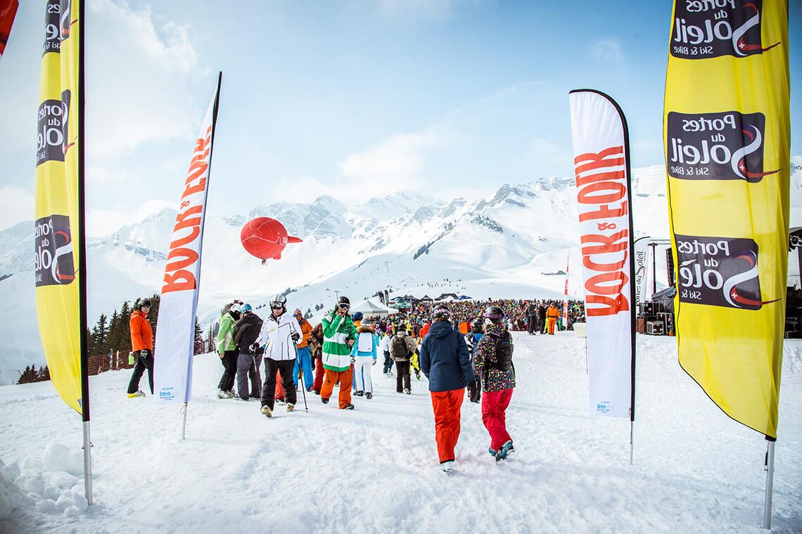 Rock the Pistes: рок-фестиваль на лыжах