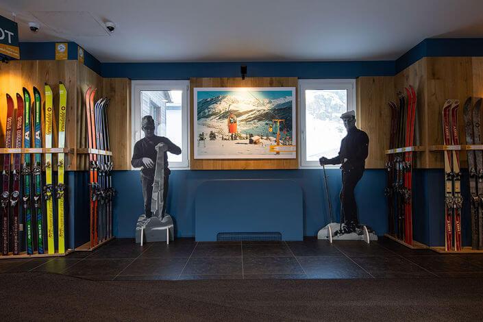 В Ливиньо открылась выставка истории лыж