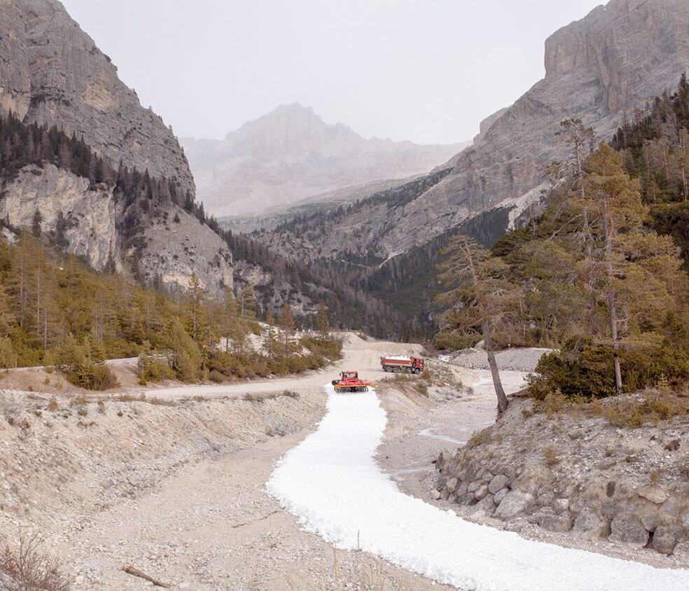 Как горнолыжная индустрия справляется с изменениями климата