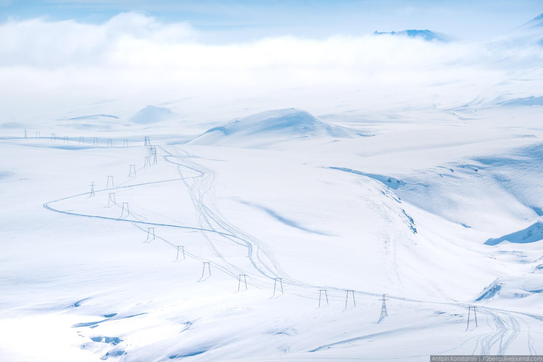 Потрясающие фото Вилючинскомого вулкана