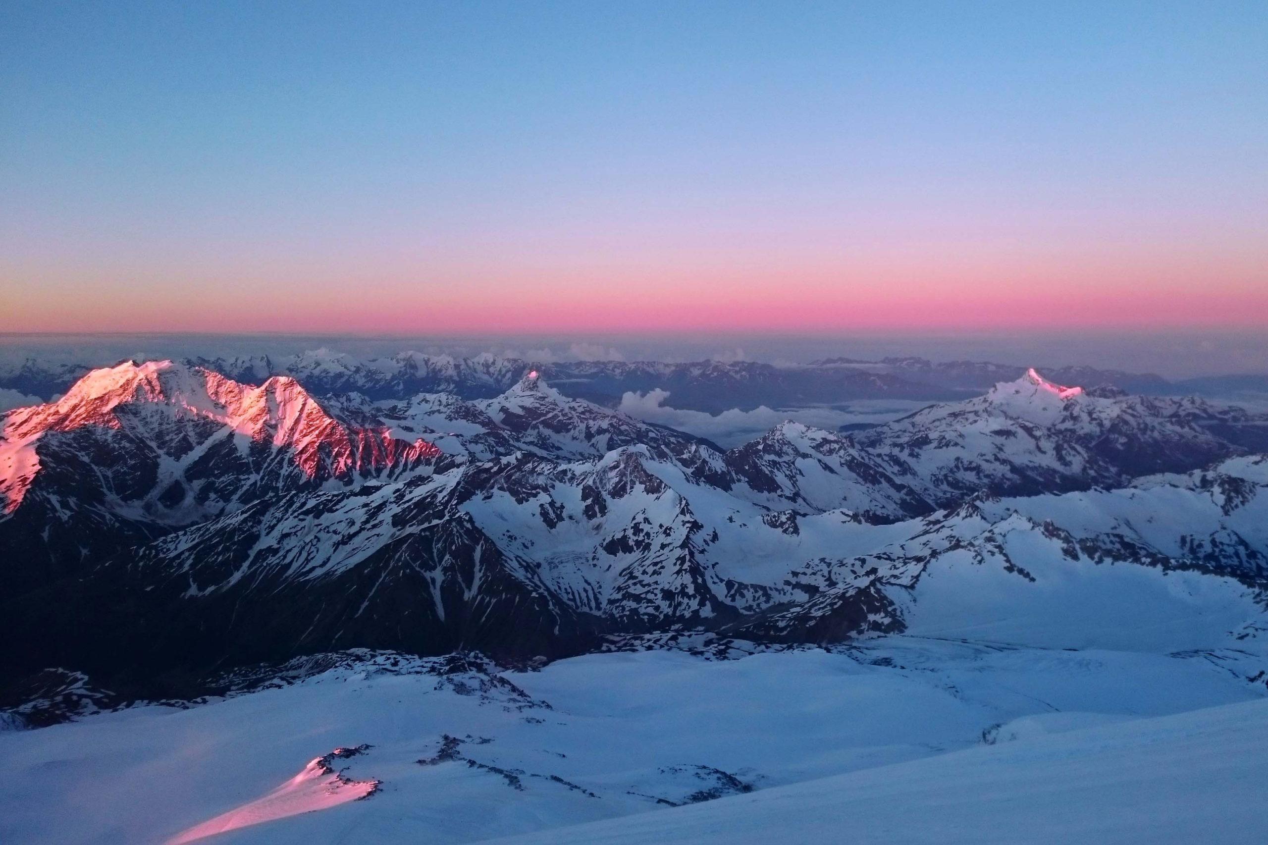 Панорамы Эльбрус