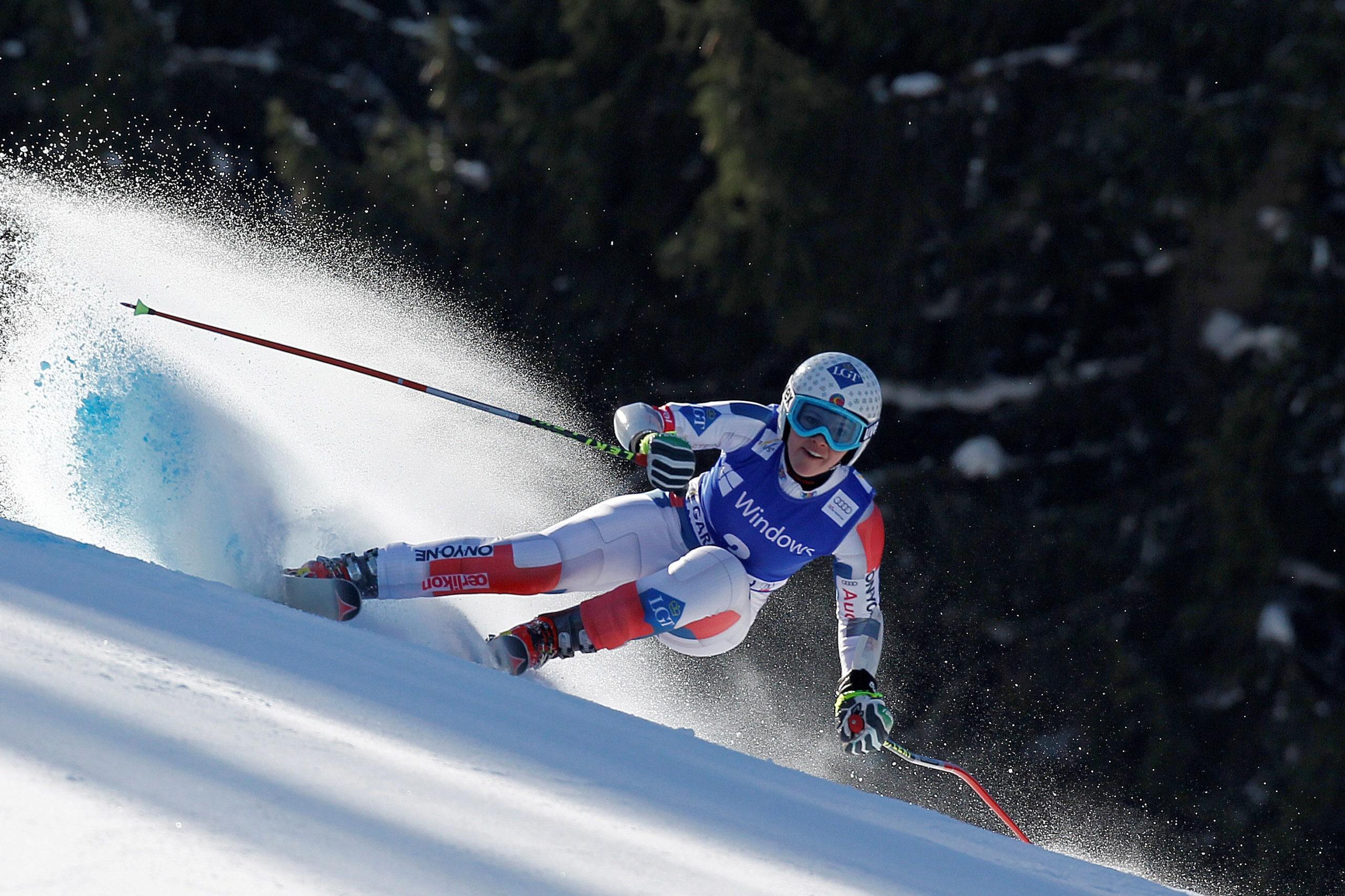 Таблица результатов этапов Кубка мира по горным лыжам 2019