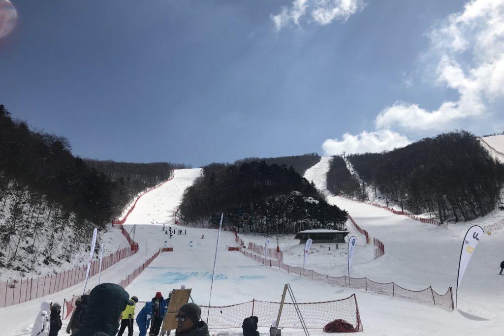 28-й Чемпионат Азии по горнолыжному спорту прошел в Корее