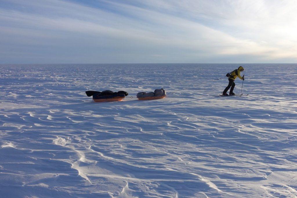 Дойти до Южного Полюса на лыжах: невозможное возможно