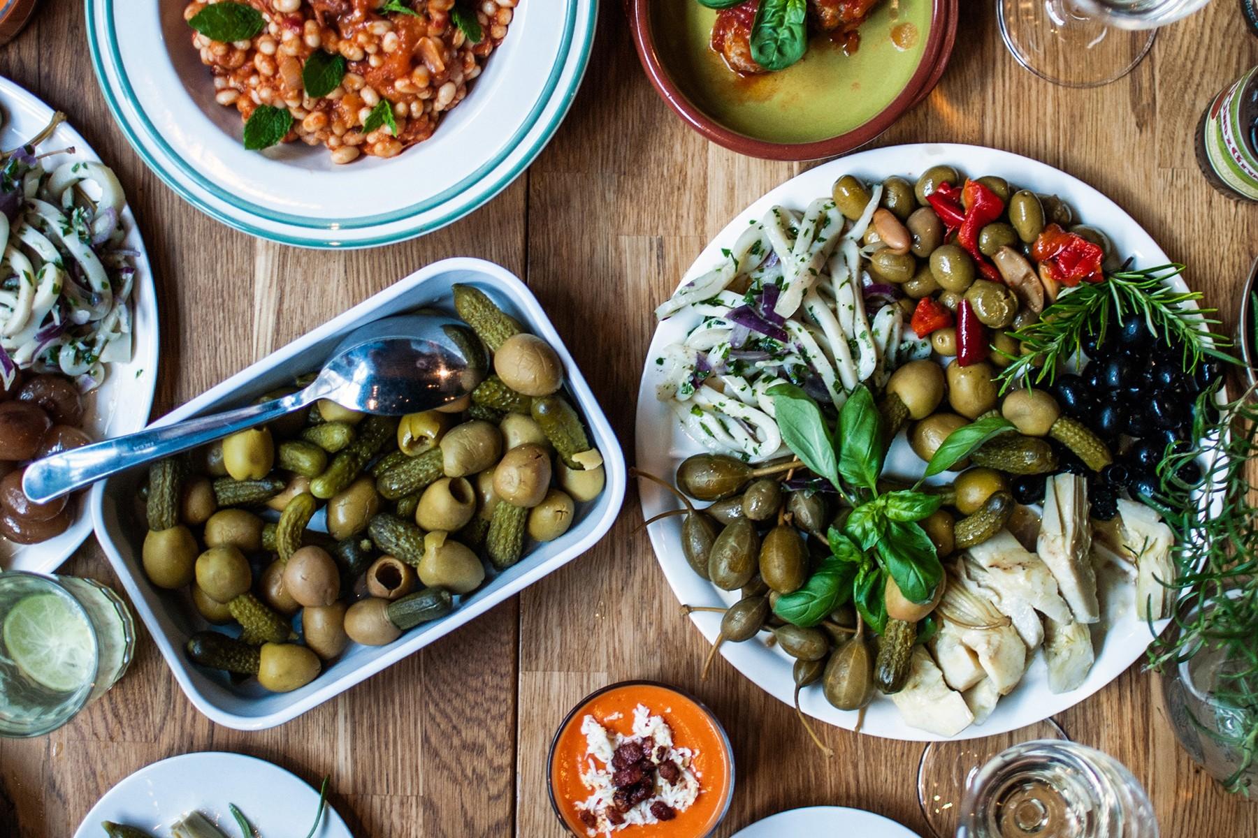 Средиземноморская Диета Завтрак.