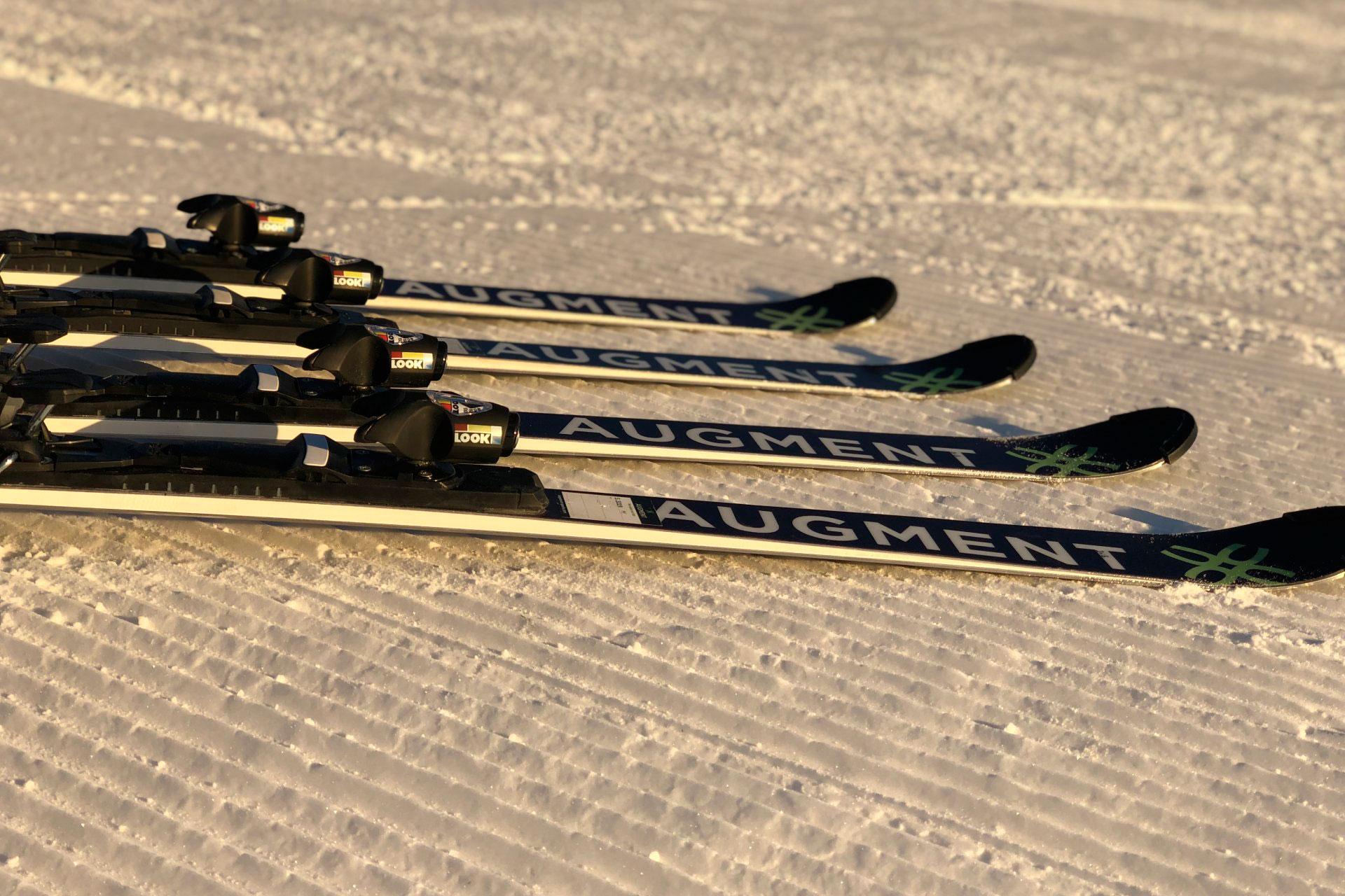 Тесты лыж Augment