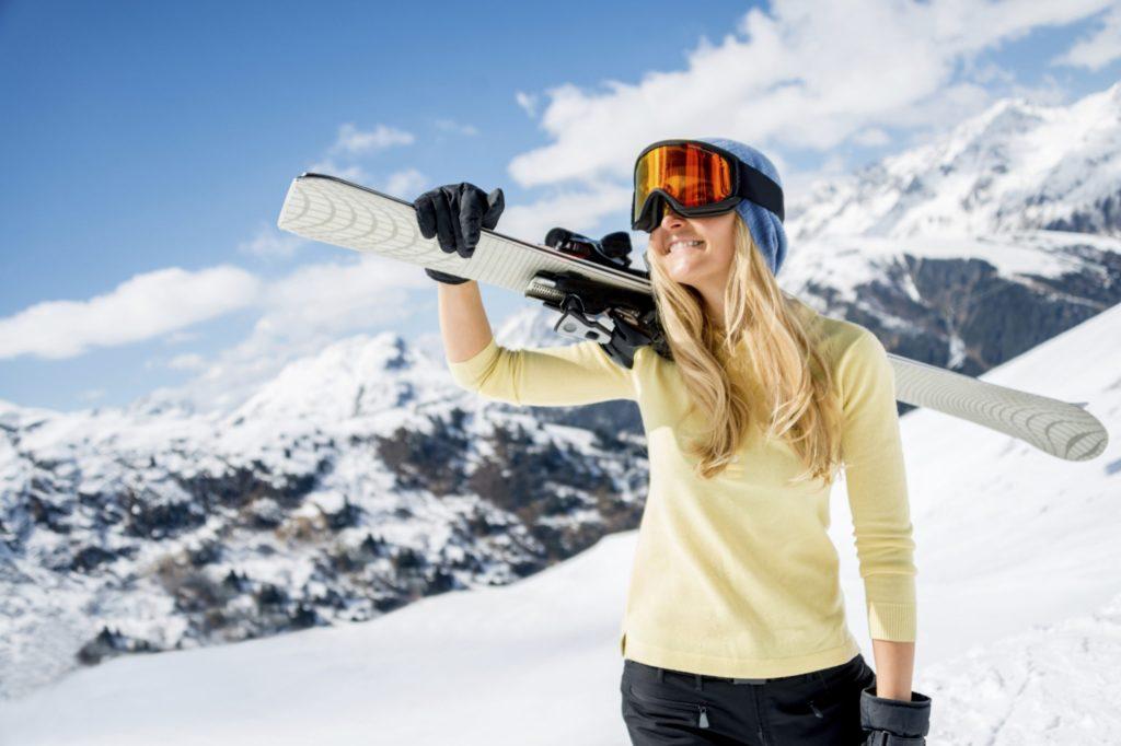 Классические лыжи: идеальный спорт для женщин