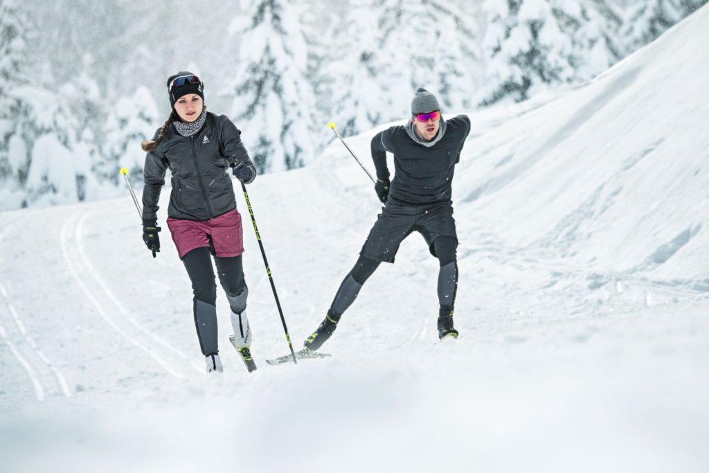 Как выбрать беговые лыжи для катания коньковым ходом