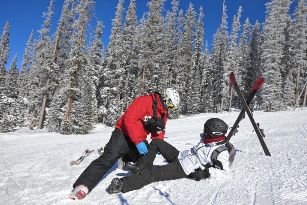Самые частые инциденты при катании на лыжах