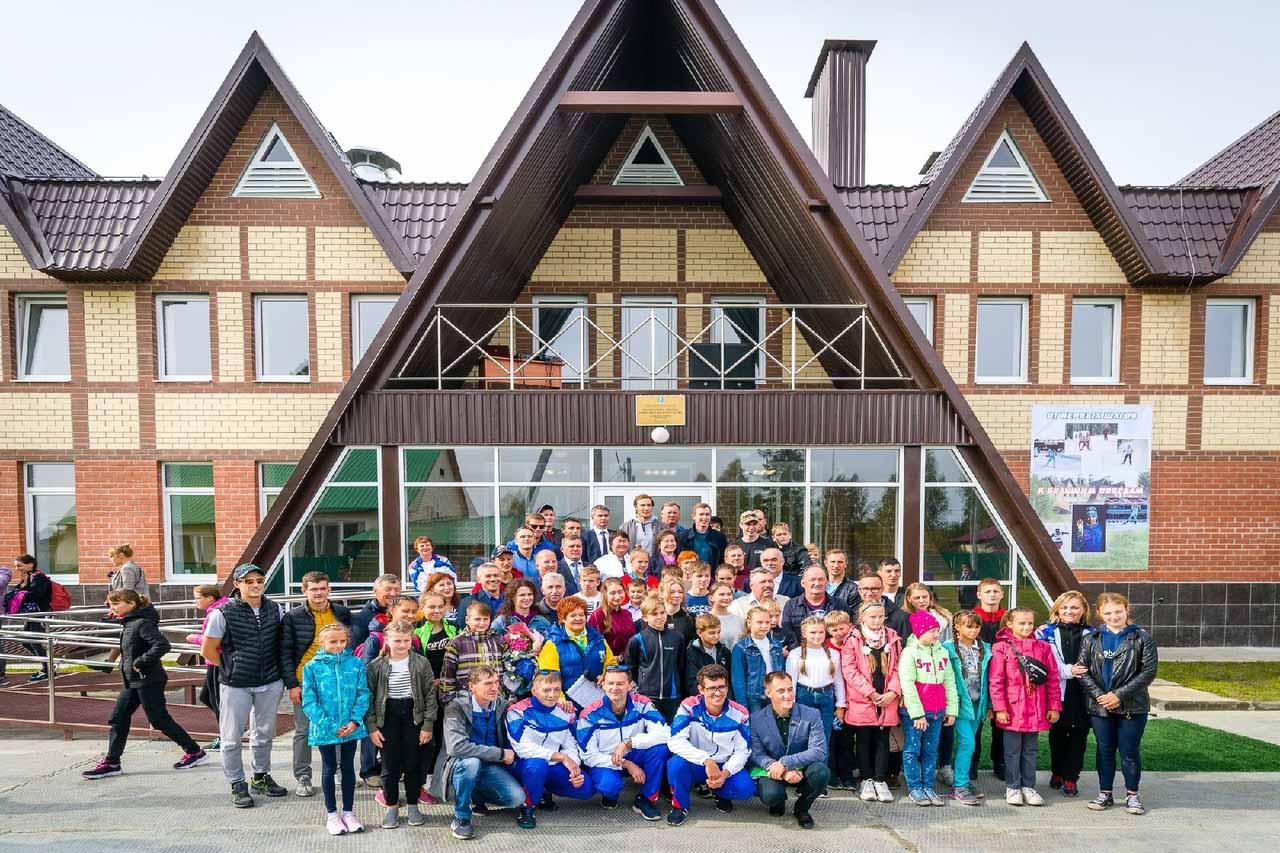 Открытие новой лыжной базы в поселке Междуреченском