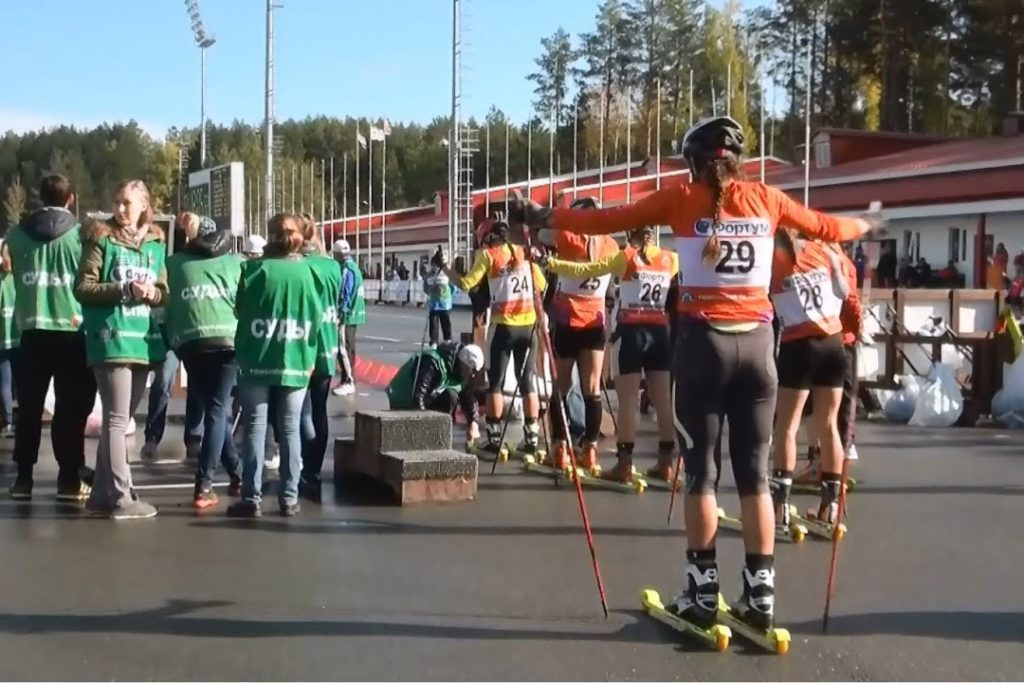 Где и как тренируется сборная России по лыжным гонкам в начале осени 2019