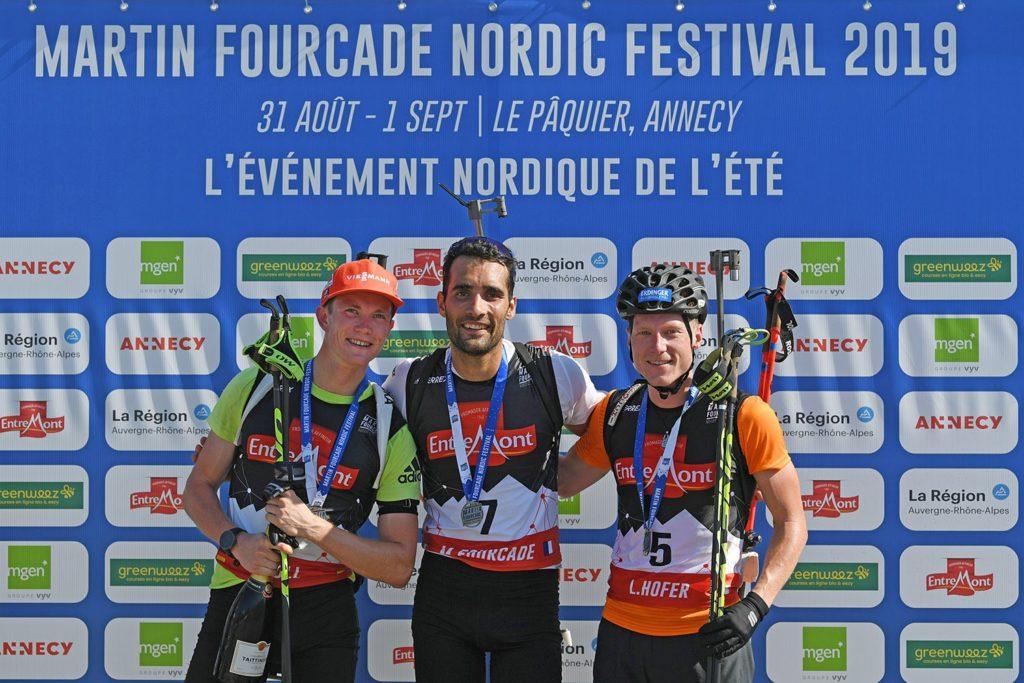 Результаты биатлонной гонки на фестивале NORDIC FESTIVAL во французском Анси