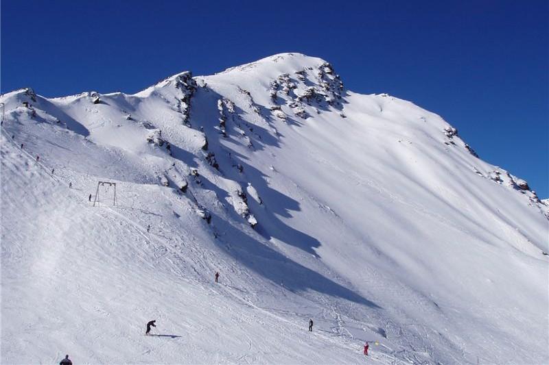 Новая трасса на горнолыжном курорте «Эльбрус»