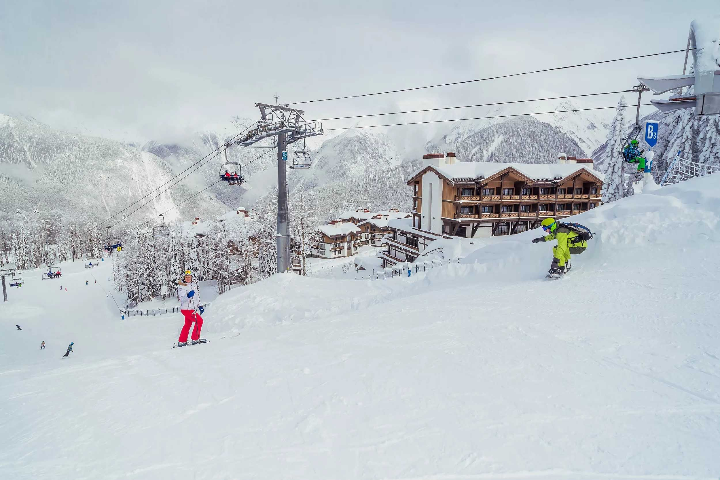 Даты начала горнолыжного сезона 2019/2020 на курортах Красной Поляны