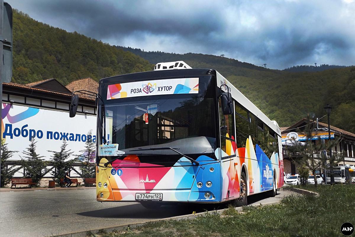 Гостям Красной Поляны теперь доступен бесплатный трансфер до горнолыжного курорта
