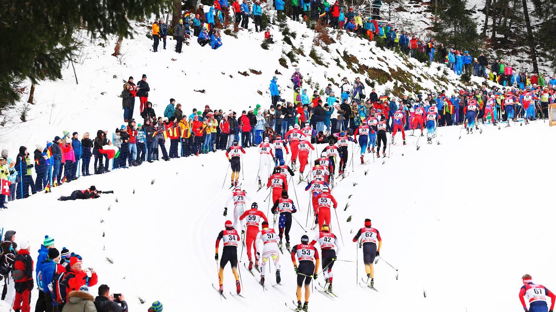 Все виды спортивных соревнований на беговых лыжах