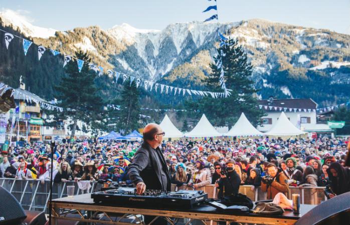 Фестиваль снежных бомб, Майрхофен, Австрия