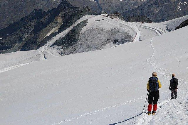 Glacier Allalin, Saas Fee