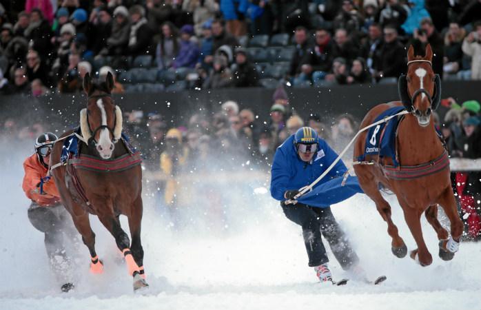 Конные бега в Сант-Мориц