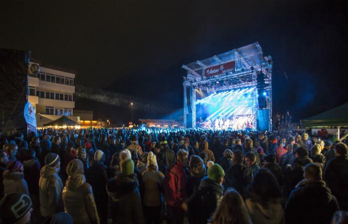 Ночные развлечения на курорте Sankt Anton