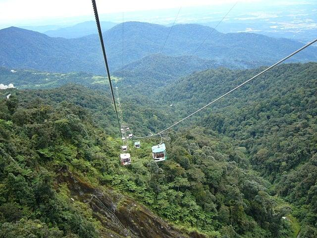 GENTING SKYWAY E LANGKAWY CABLE CAR